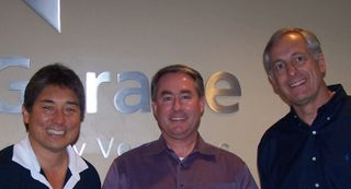 Guy Kawasaki, Dennis Hall, Bill Reichert Bloggers' Embark meeting 10-08-08