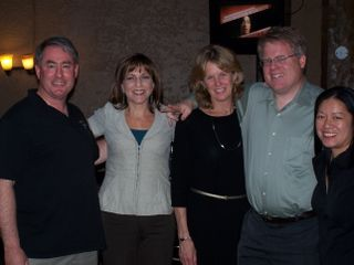 Bloggers' Embark icebreaker - Dennis Hall, Beth Blecherman, Jennifer Jones, Robert Scoble, Charlene Li